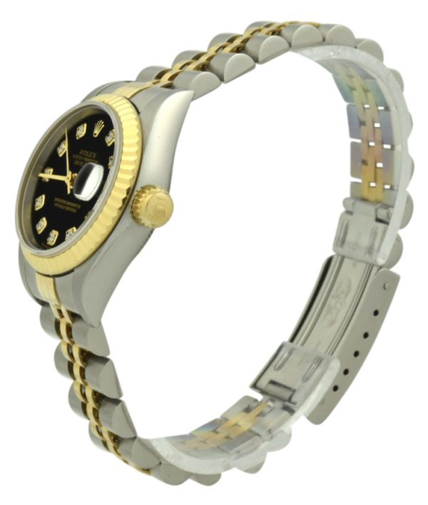 Ladies Rolex datejust black diamond dial for sale