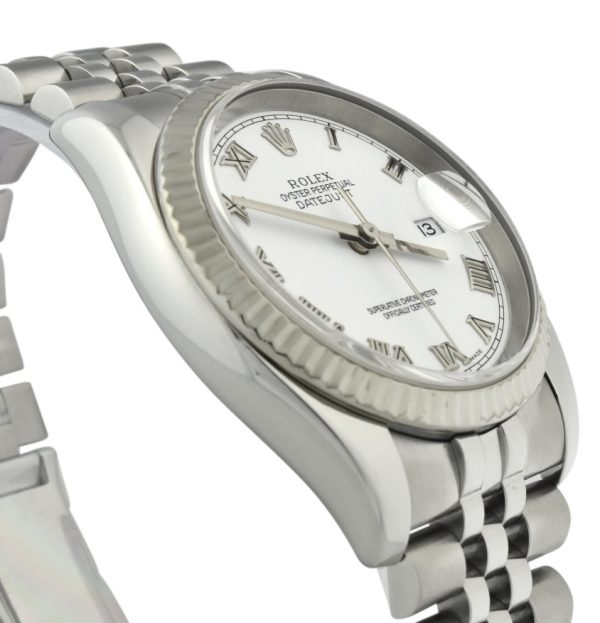 2004 rolex datejust 36mm 116234 white dial