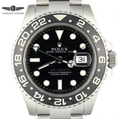 2008 Rolex GMT-Master II 116710LN