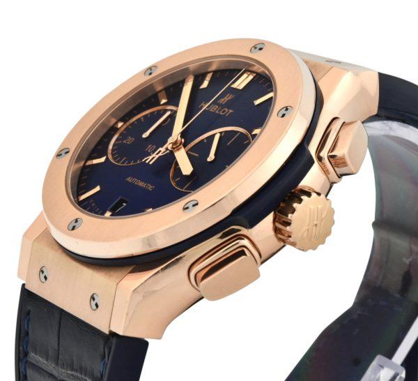 Hublot classic fusion 45mm rose gold chronograph