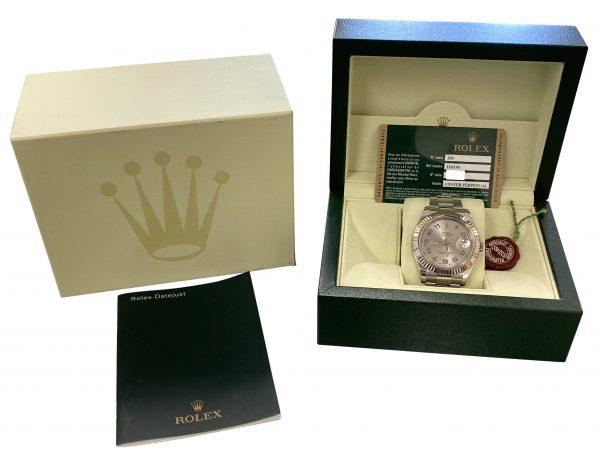 2010 Men's Rolex Datejust II 41mm 116334 For sale