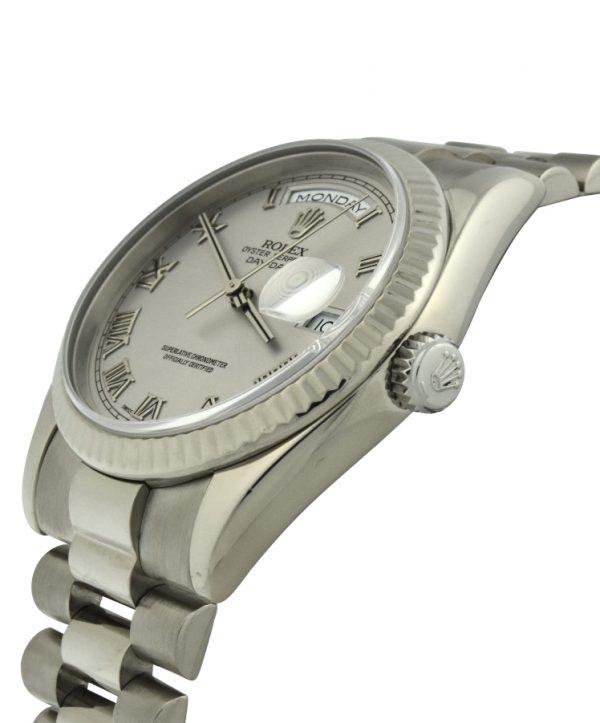 2000 Rolex President 18k White Gold 118239