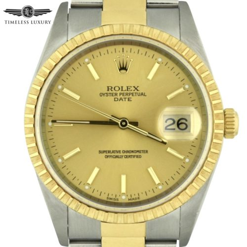 2002 Rolex Oyster Perpetual Date 15223 for sale
