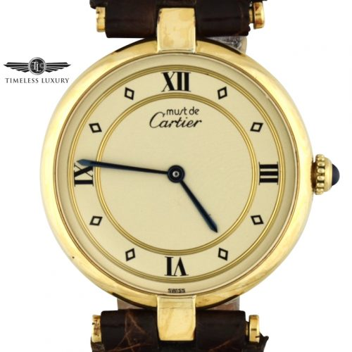 Must de cartier gold vermeil 590003