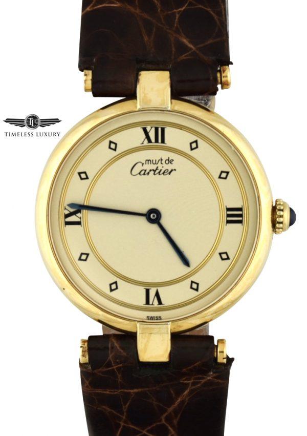 Must de cartier gold vermeil 590003