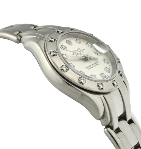 Ladies Rolex Pearlmaster 12 diamond 80319