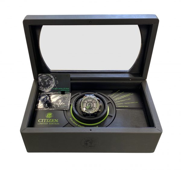 Citizen Eco-Drive Satellite Wave Limited Edition CC0005-06E 2011 concept watch for sale