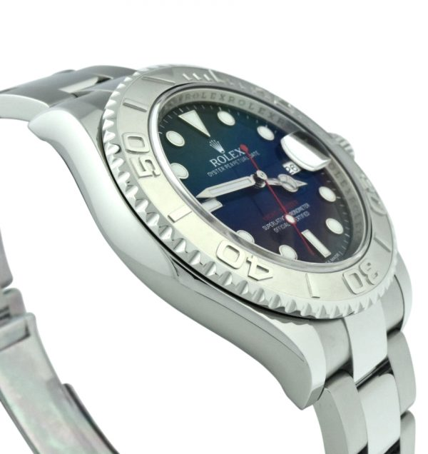 2014 Rolex Yacht-Master 116622 blue dial