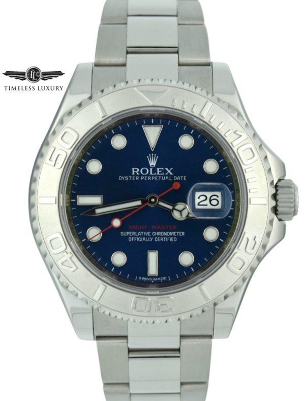 Men's Rolex Yacht-master 116622 blue dial for sale