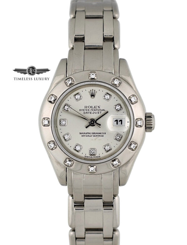 Ladies Rolex Pearlmaster 80319 for sale