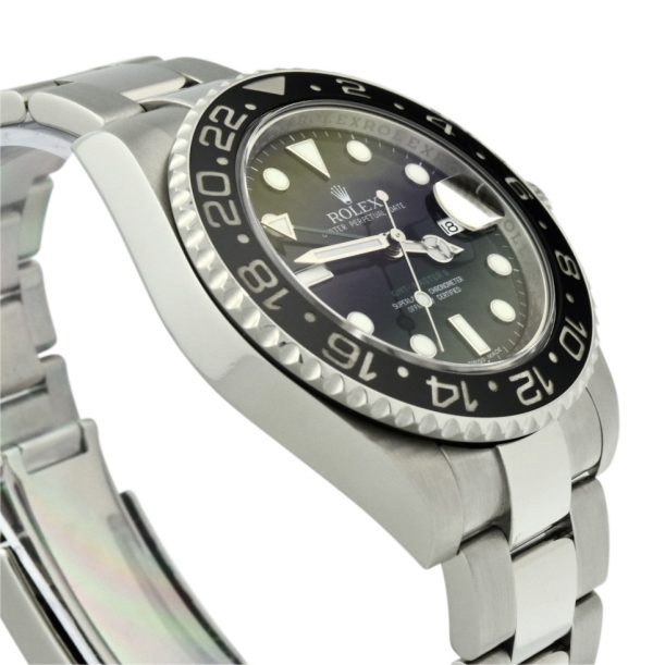 Men's Rolex GMT-Master II Stainless Steel 116710