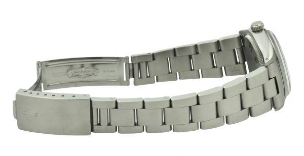 Rolex Air-King 5500 Dominos logo dial watch