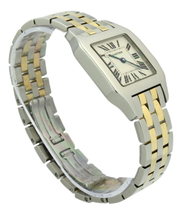 Cartier Santos Demoiselle W25067Z6 steel & gold