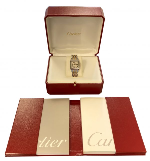 Ladies Cartier Santos Demoiselle 2701 Steel & gold