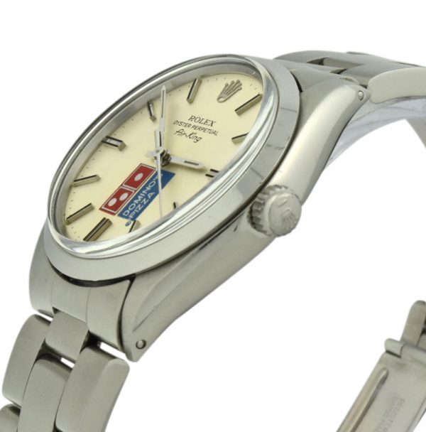 Rolex Air-King Dominos Pizza Logo Dial