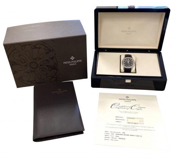 Men's Patek Philippe Aquanaut 5167A-001 For Sale