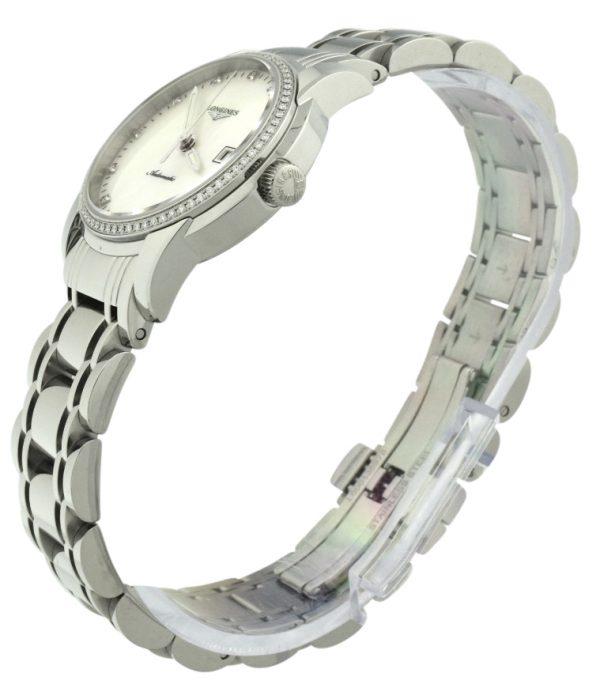 Ladies Longines Saint-Imier L2.563.0.87.6 Diamond Bezel