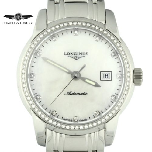 Ladies Longines Saint-Imier L2.563.0.87.6 Diamond Bezel 30mm Watch