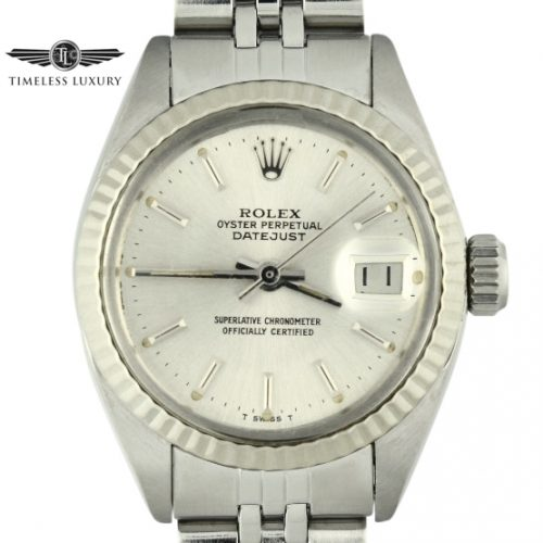 1981 Ladies Rolex Datejust 6917 stainless steel