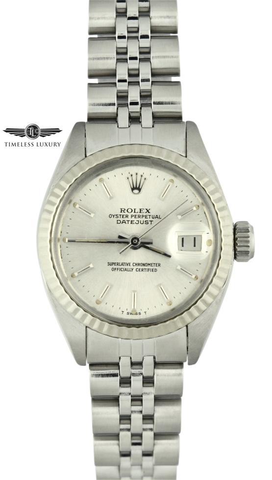 1981 Ladies Rolex Datejust 6917 stainless steel