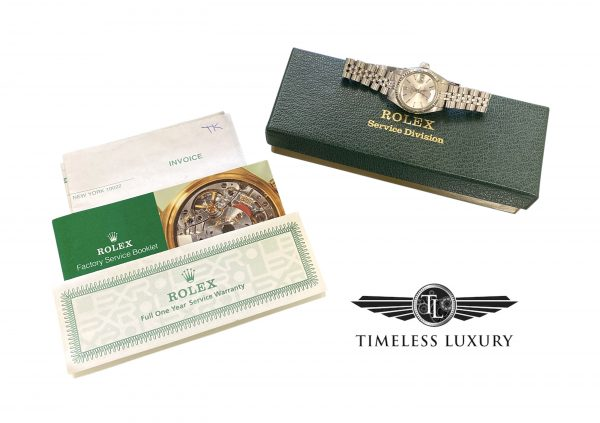 1981 Ladies Rolex datejust 6917 stainless steel for sale