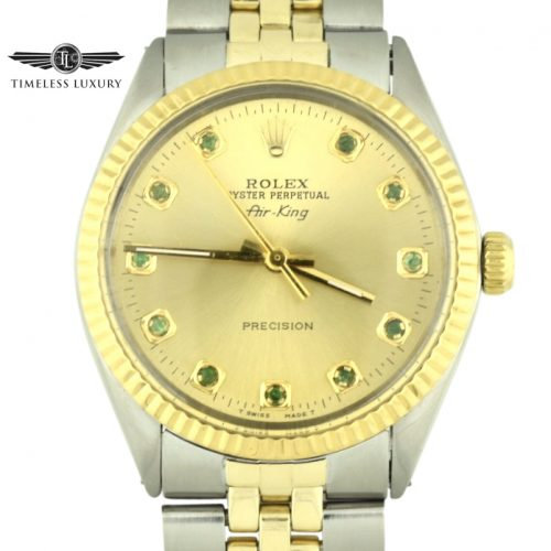 Vintage Rolex air-king two tone