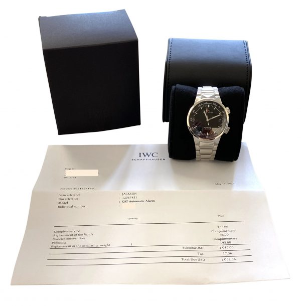 IWC GST Alarm automatic IW3537-01 FOR SALE