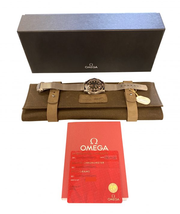 OMEGA Seamaster 007 Edition 21090422001001 No Time To Dia Watch titanium