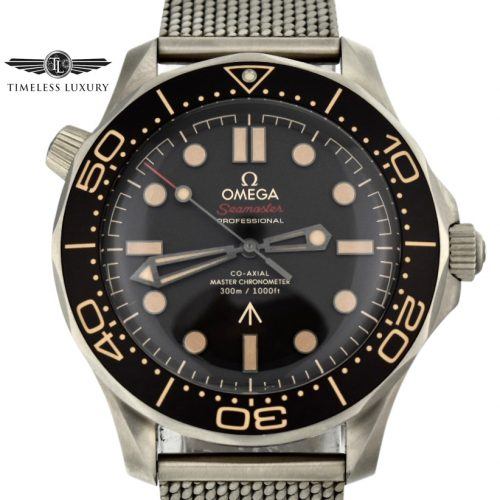 OMEGA Seamaster 007 Edition 21090422001001 No Time To Dia Watch