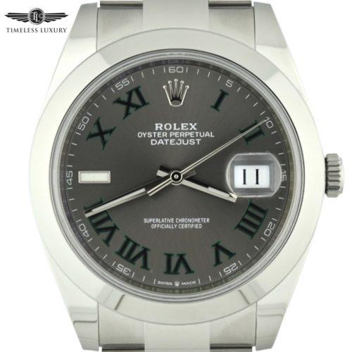 Rolex 126300 Wimbledon dial