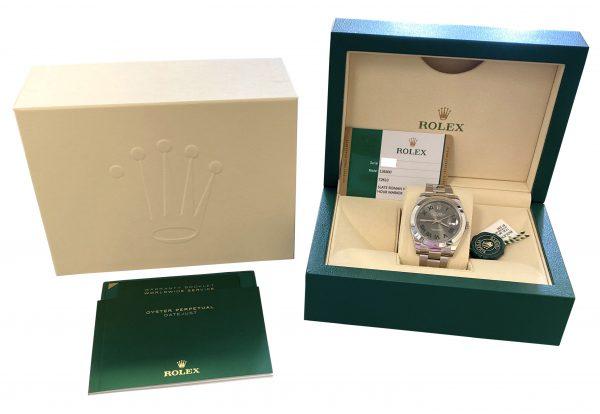 NEW Rolex datejust 41mm 126300 Wimbledon dial