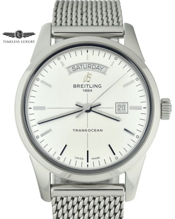 Breitling A45310 Transocean day & date