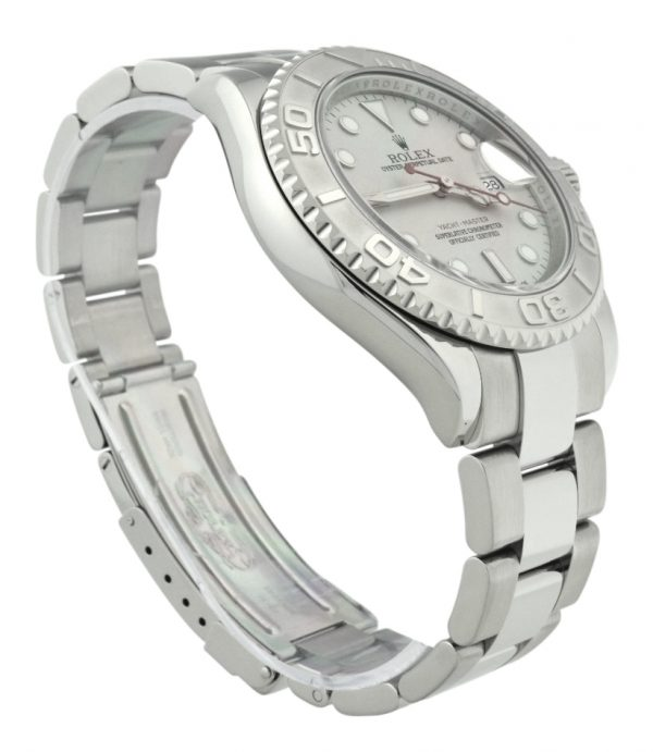 2008 Rolex Yacht-Master Platinum Dial 16622