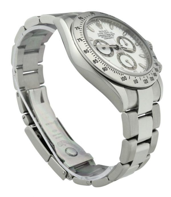 2007 Rolex Daytona 116520 white dial