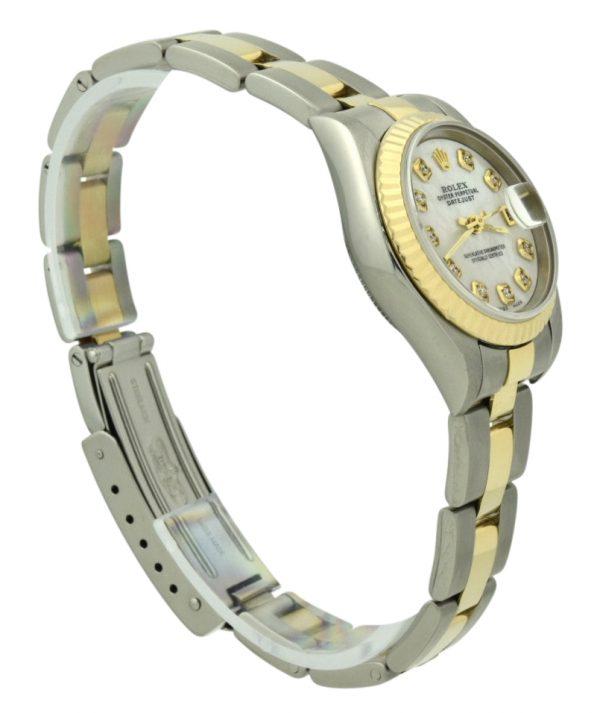 Ladies Rolex datejust 79173 mop dial