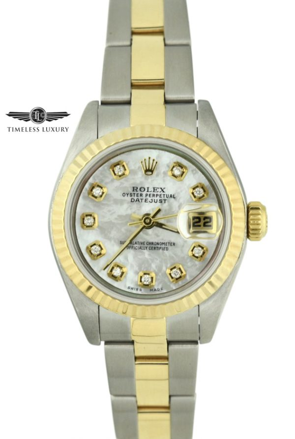 Ladies Rolex datejust 26mm 79173