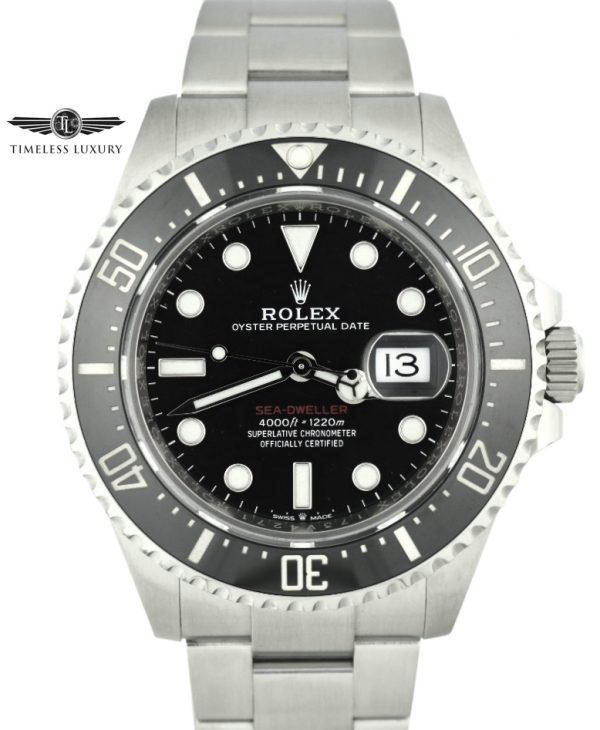 2018 Rolex Sea-Dweller 50th Anniversary 126600
