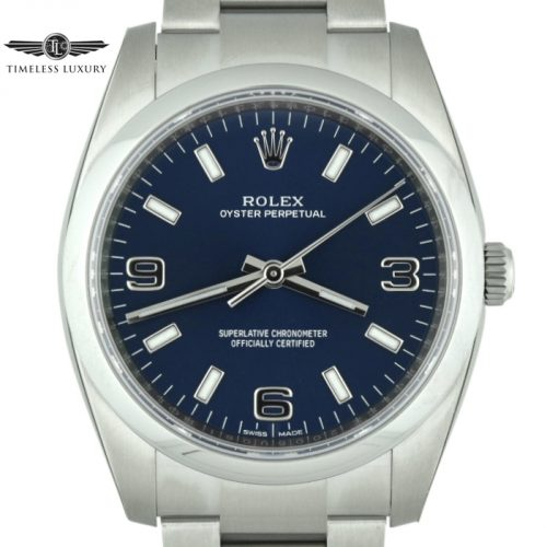 rolex 114200 blue dial for sale
