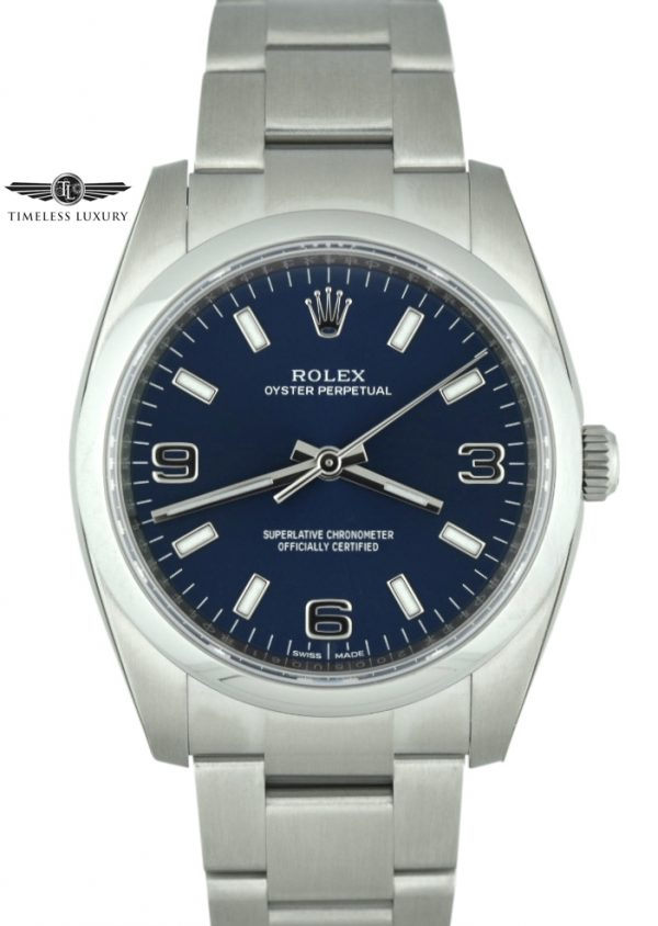 rolex 114200 blue dial for sale