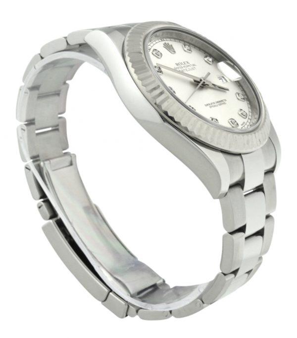 Rolex datejust II 41mm 116334 diamond dial
