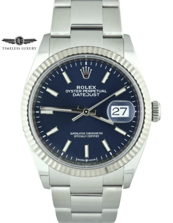 Rolex Datejust 36mm 126234 blue dial