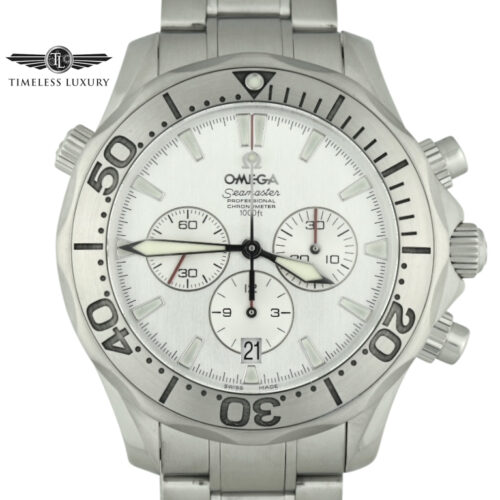OMEGA Special Edition Seamaster Chronograph 2589.30.00 Silver Dial