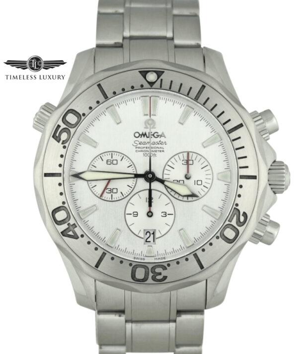 OMEGA Special Edition Seamaster Chronograph 2589.30.00 Silver Dial