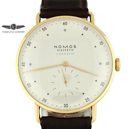 NOMOS Glashutte 1180 rose gold