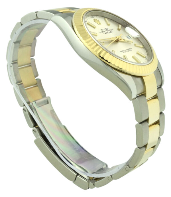 Men's Rolex datejust 41mm 126333 silver dial