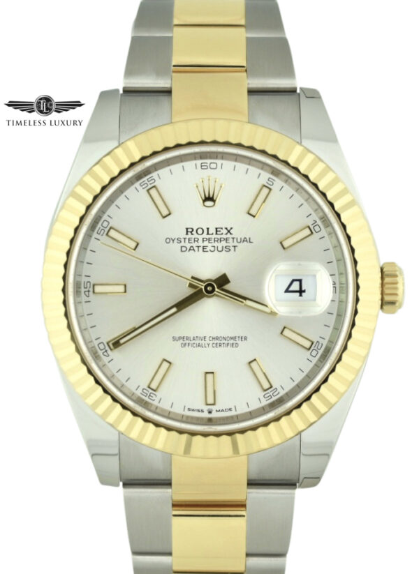 Rolex Datejust 41mm 126333 silver dial