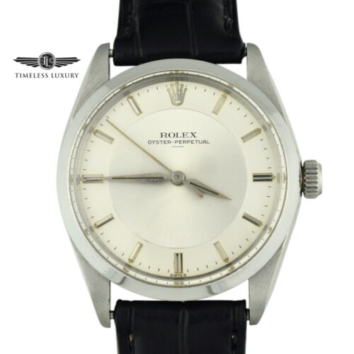 Rolex 5552 Swiss only underline dial