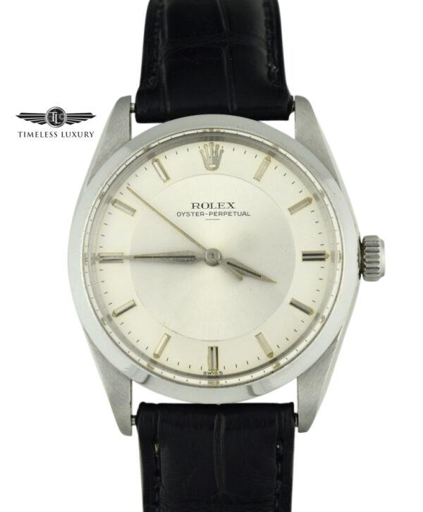 Rolex 5552 Swiss only underline dial