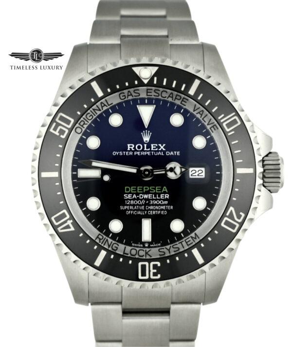 Rolex Deepsea James Cameron D-Blue 126660