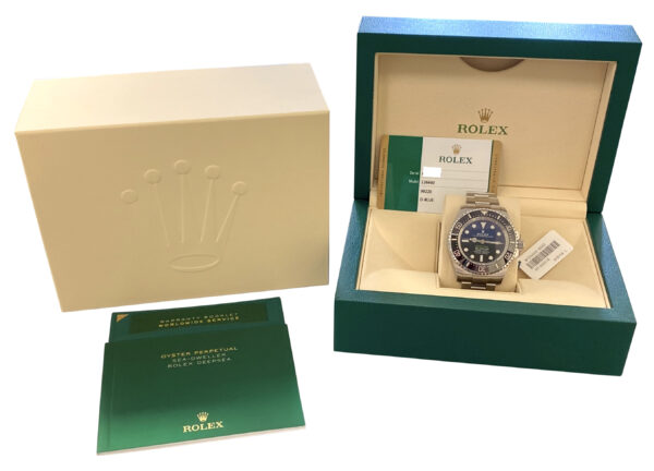 2020 Rolex Deepsea 126660 D-Blue For sale